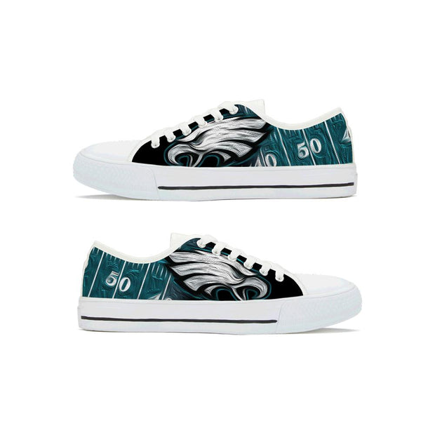 Philadelphia Eagles Low Top Shoes For Men Women - diNeiLa