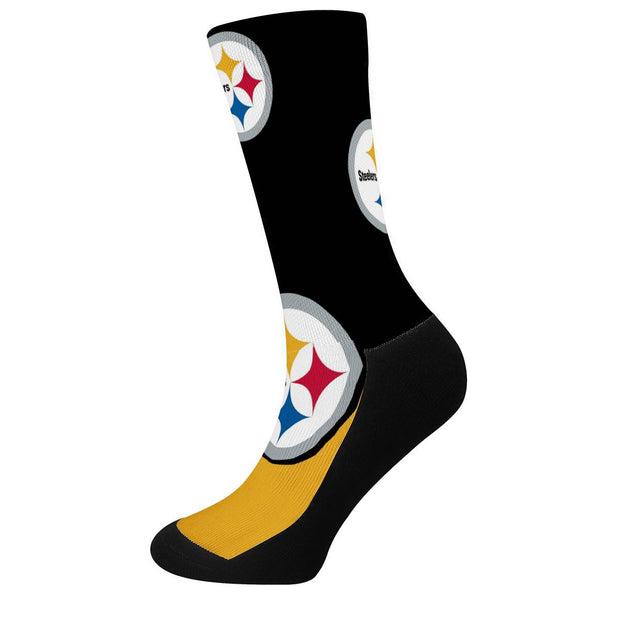 Pittsburgh Steelers For Bare Feet Crew Socks - diNeiLa