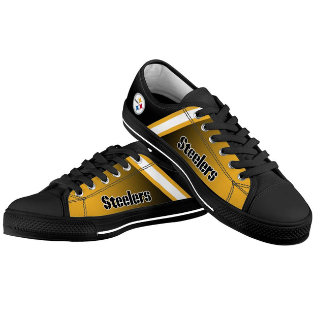 Pittsburgh Steelers Low Top Shoes For Men Women - diNeiLa