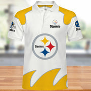 Pittsburgh Steelers Polo Shirt - diNeiLa