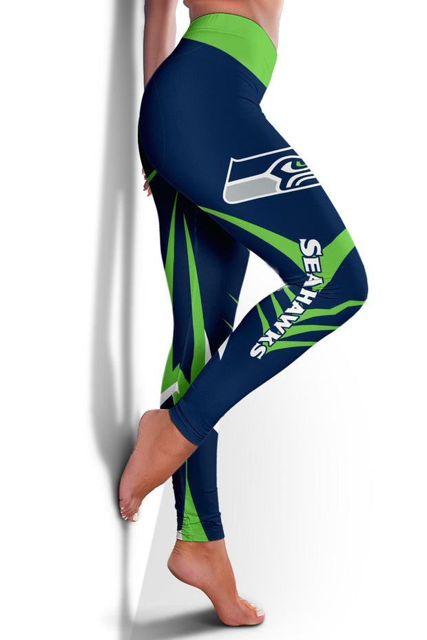 Seattle Seahawks Limited Edition 3D Printed Leggings - Douin