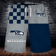 Seattle Seahawks Summer Beach Shorts - diNeiLa