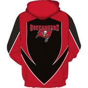 Tampa Bay Buccaneers 3D Printed Hooded Pocket Pullover Hoodie - diNeiLa