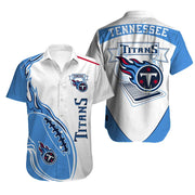 Tennessee Titans Hawaiian Shirt Slim Fit Body - diNeiLa