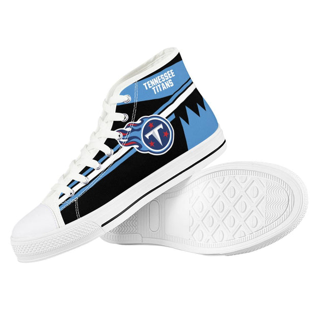 Tennessee Titans High Top Shoes - diNeiLa