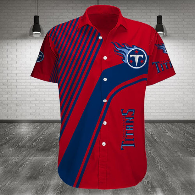 Tennessee Titans Shirt Slim Fit Body - diNeiLa