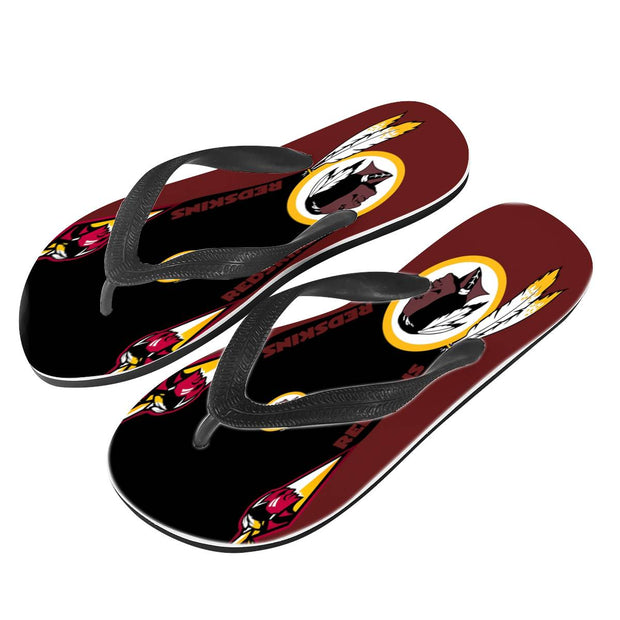 Washington Redskins Flip Flops - diNeiLa
