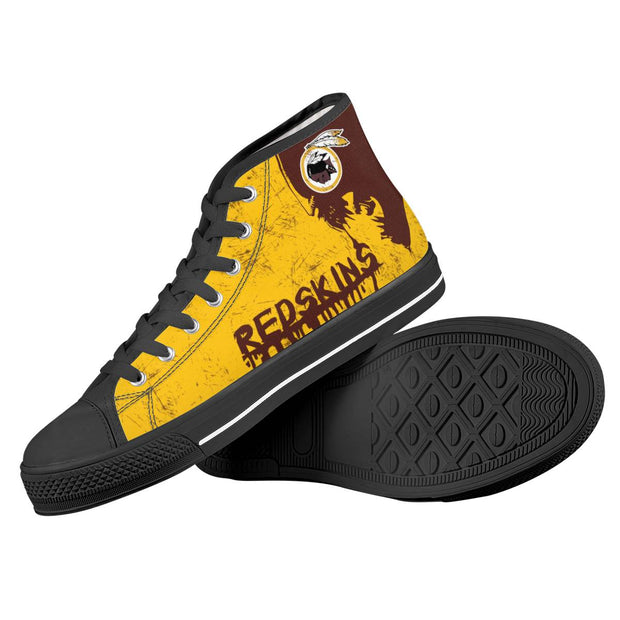 Washington Redskins High Top Shoes - diNeiLa