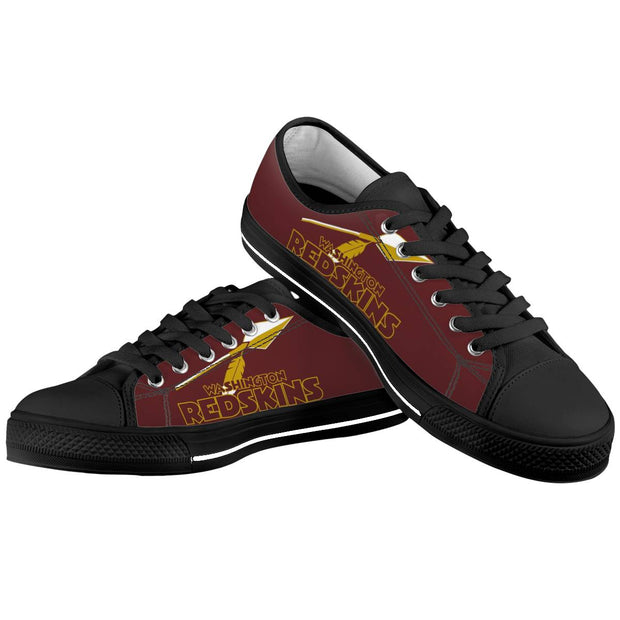 Washington Redskins Low Top Shoes - diNeiLa