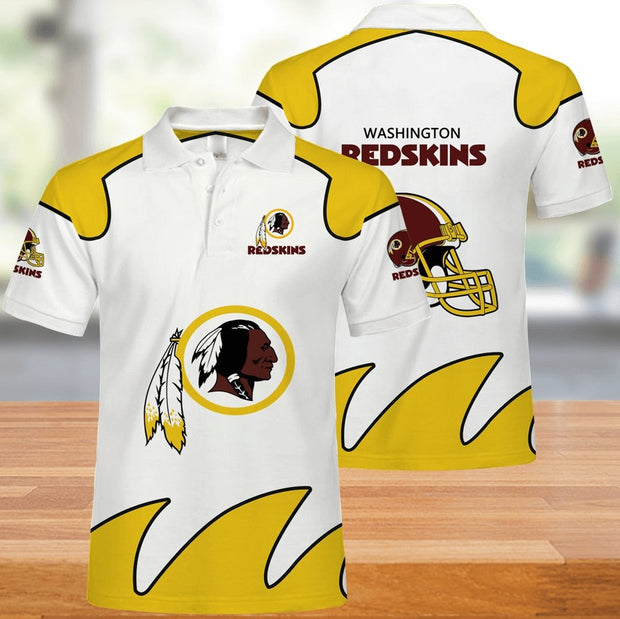 Washington Redskins Polo Shirt - diNeiLa