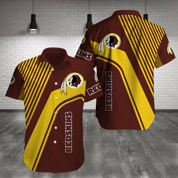 Washington Redskins Shirt Slim Fit Body - diNeiLa