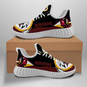 Washington Redskins Sneakers Big Logo Yeezy Shoes - diNeiLa