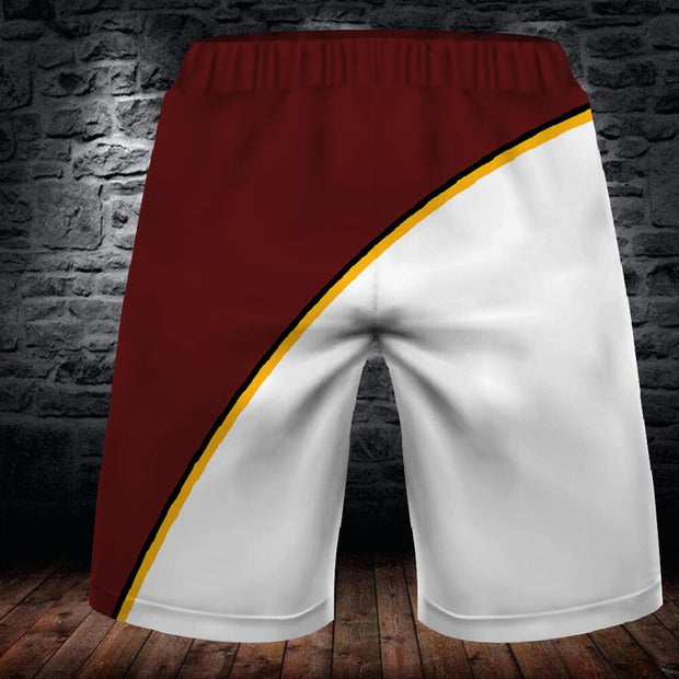Washington Redskins Summer Beach Shorts - diNeiLa