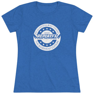Replay FX 2020 Crest Women's Crew Neck T-Shirt