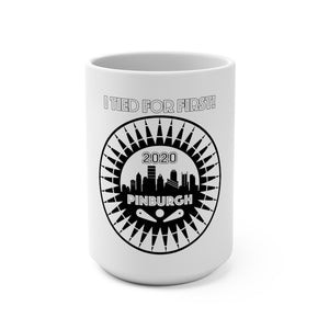Pinburgh 2020 Tied For First Mug