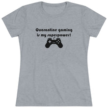 Load image into Gallery viewer, 2020 Quarantine Gaming Women's Crew Neck T-Shirt