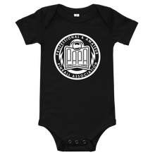 Load image into Gallery viewer, PAPA Crest Baby Onesie