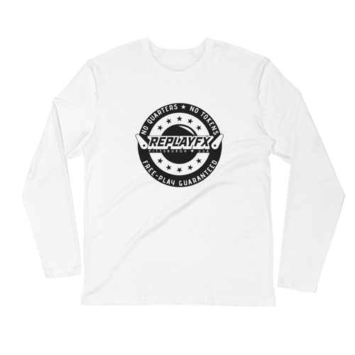 Replay FX Crest Long Sleeve Fitted Crew