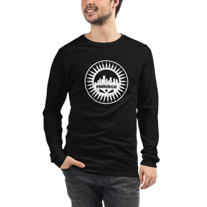 Pinburgh Logo Unisex Long Sleeve Tee