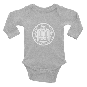 PAPA Crest Infant Long Sleeve Bodysuit
