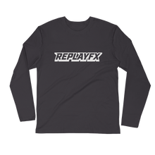 Load image into Gallery viewer, Replay FX Logo Long Sleeve Fitted Crew