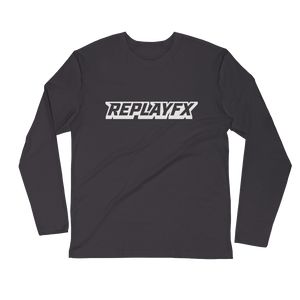 Replay FX Logo Long Sleeve Fitted Crew
