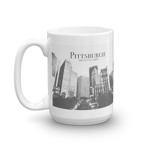 Pittsburgh City of Gaming Mug