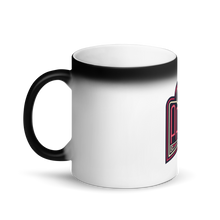 Load image into Gallery viewer, PAPA Red Logo Matte Black Magic Mug