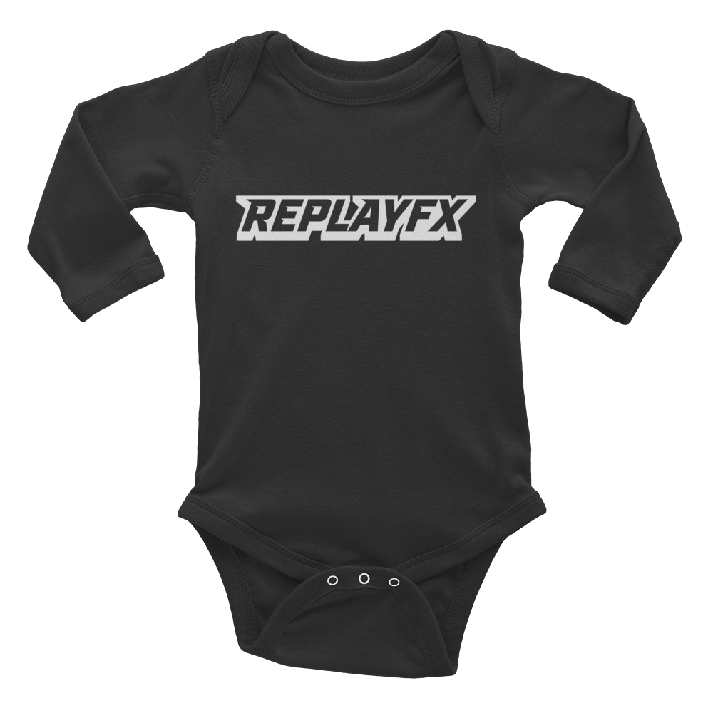 Replay FX Logo Infant Long Sleeve Bodysuit