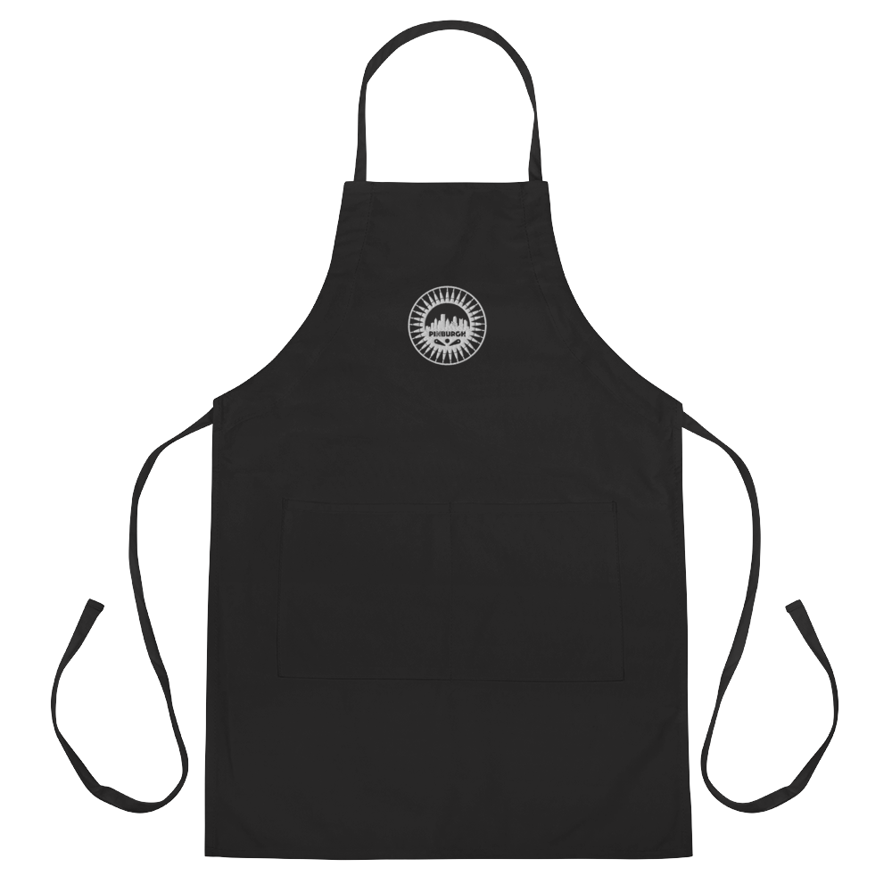 Pinburgh Logo Embroidered Apron