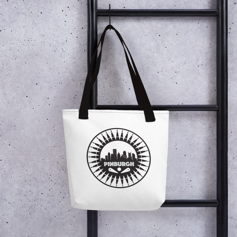 Pinburgh Logo Tote Bag