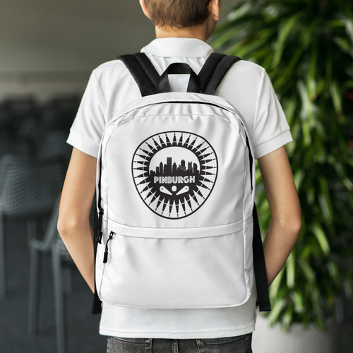 Pinburgh Logo Backpack
