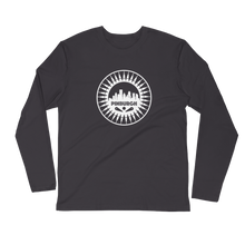 Load image into Gallery viewer, Pinburgh Logo Long Sleeve Fitted Crew