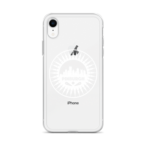 Pinburgh Logo iPhone Case (White)