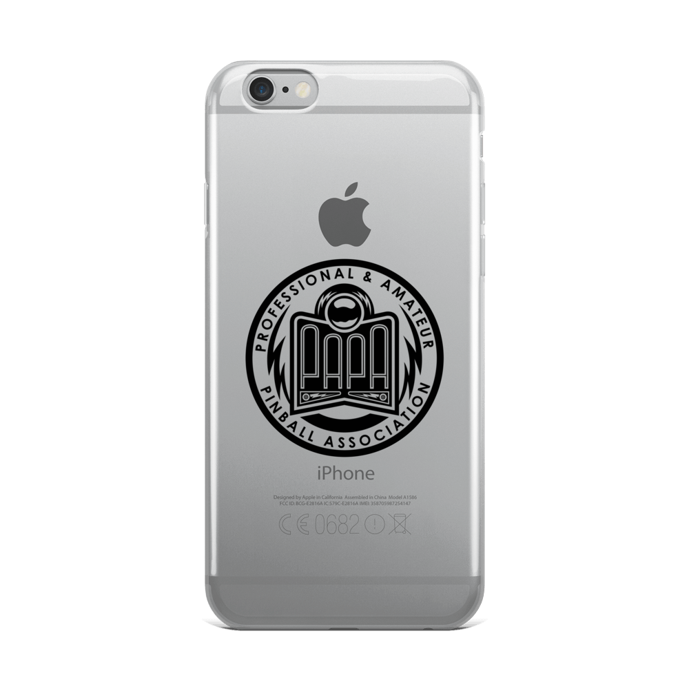 PAPA Crest iPhone Case