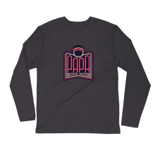 Load image into Gallery viewer, PAPA Red Logo Long Sleeve Fitted Crew
