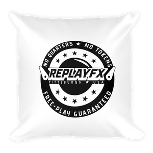 Replay FX Crest Throw Pillow