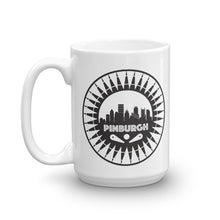 Load image into Gallery viewer, Pinburgh Logo Mug