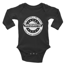 Load image into Gallery viewer, Replay FX Crest Infant Long Sleeve Bodysuit
