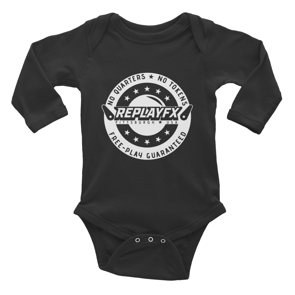 Replay FX Crest Infant Long Sleeve Bodysuit