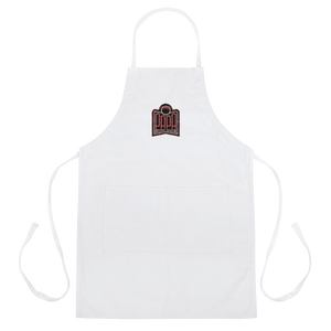 PAPA Red Logo Embroidered Apron