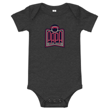Load image into Gallery viewer, PAPA Red Logo Baby Onesie