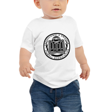 Load image into Gallery viewer, PAPA Crest Baby Jersey Short Sleeve T-Shirt