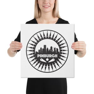 Pinburgh Logo Canvas