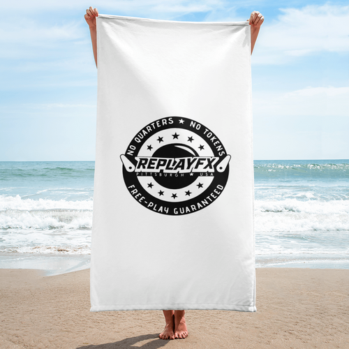 Replay FX Crest Beach Towel