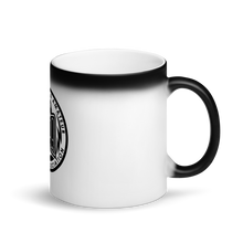 Load image into Gallery viewer, PAPA Crest Matte Black Magic Mug