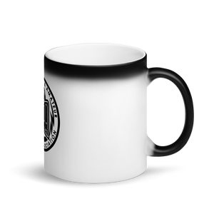 PAPA Crest Matte Black Magic Mug