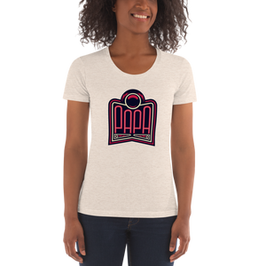 PAPA Red Logo Women's Crew Neck T-Shirt
