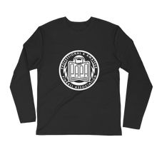 Load image into Gallery viewer, PAPA Crest Long Sleeve Fitted Crew