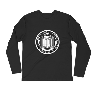 PAPA Crest Long Sleeve Fitted Crew